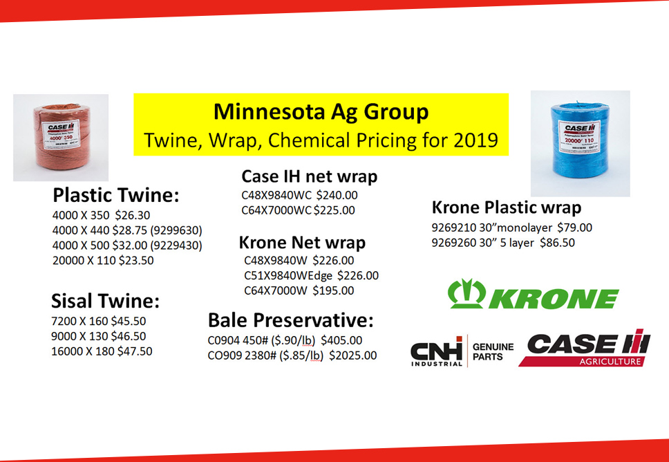 Your Case IH Dealer for Farm, Lawn and Garden » Minnesota Ag